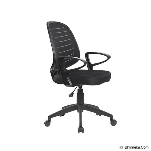 HIGH POINT Office Chair Austin [W131A] - Black - Kursi Kantor