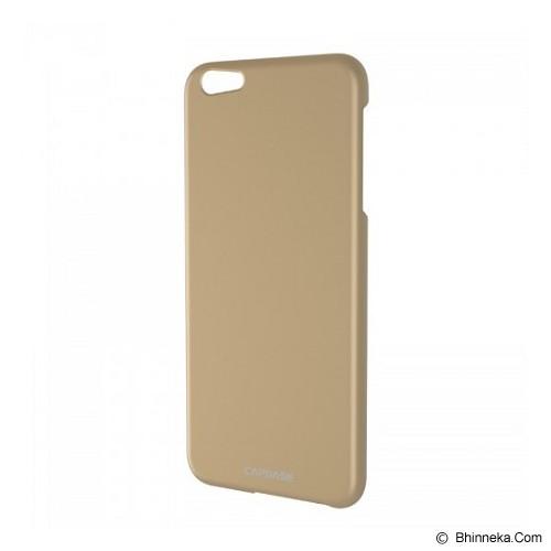 CAPDASE Hard Case Apple iPhone 6 Plus / iPhone 6S Plus Posh Slim Fit - Gold (Merchant) - Casing Handphone / Case