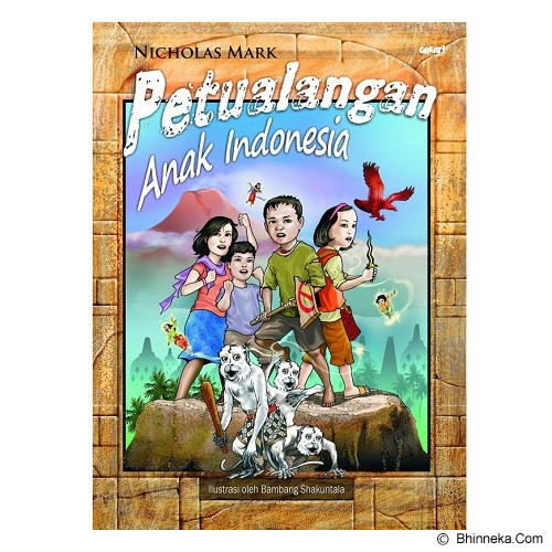 GALANGPRESS Petualangan Anak Indonesia [GE000090] - Craft and Hobby Book