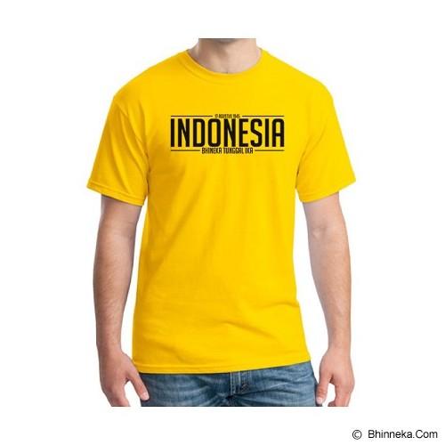 ORDINAL Alpha One Indonesia Size XL [05] - Kaos Pria