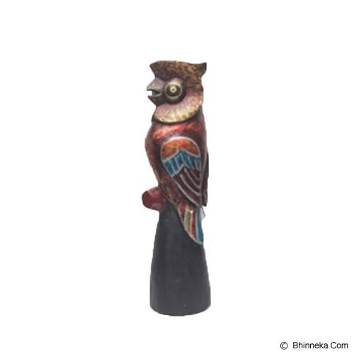 SMESCO TRADE Patung Burung Hantu Merah Sayap Biru [005c-044379] - Wall Art / Hiasan Dinding