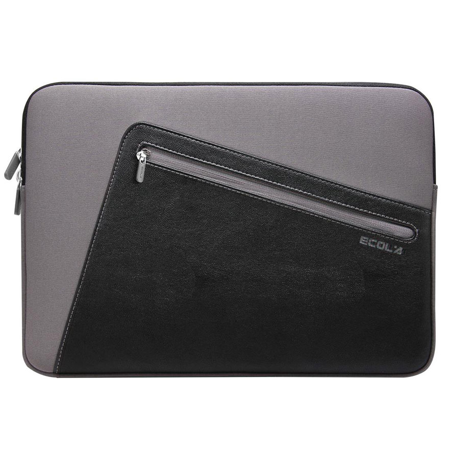 EXCLUSIVE IMPORTS Ecola IN-ES11 Elegant Style PU & Neoprene Laptop [I01030000633701] - Notebook Sleeve