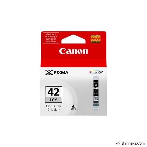 CANON Light Grey Cartridge [CLI42LG] - Tinta Printer Canon