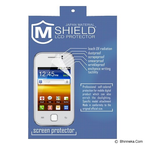M-SHIELD Screen Protector Glare Apple Iphone 4 - Screen Protector Handphone