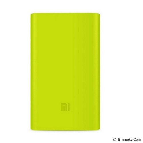 XIAOMI Silicone Powerbank 5000mAh - Green (Merchant) - Casing Powerbank / Case