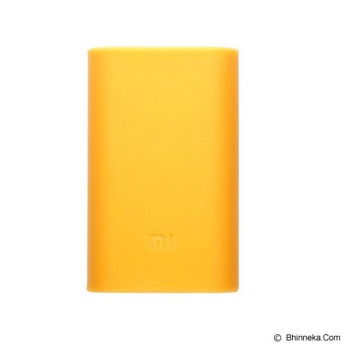 XIAOMI Silicone Powerbank 5000mAh - Orange (Merchant) - Casing Powerbank / Case