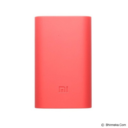 XIAOMI Silicone Powerbank 5000mAh - Pink (Merchant) - Casing Powerbank / Case