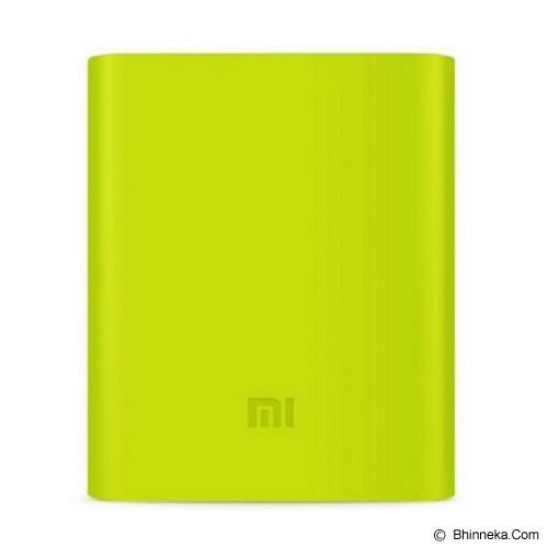 XIAOMI Silicone Powerbank 10400mAh - Green (Merchant) - Casing Powerbank / Case