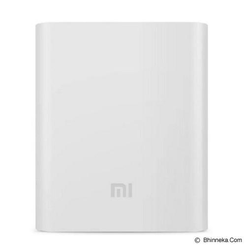 XIAOMI Silicone Powerbank 10400mAh - White - Casing Powerbank / Case