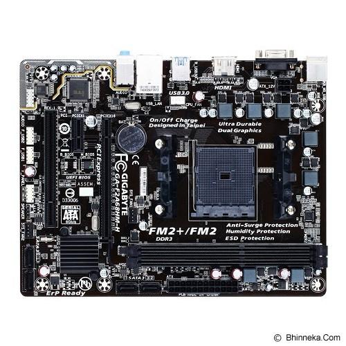 GIGABYTE Motherboard Socket FM2+ [GA-F2A68HM-H] - Motherboard Amd Socket Fm2 / Fm2+