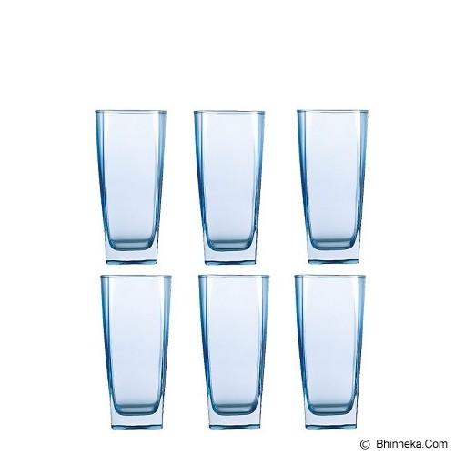 LUMINARC Sterling Blue Gobelet Set of 6 33cl [J1582] - Gelas