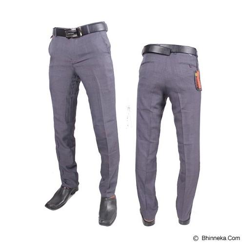 GUDANG FASHION Celana Formal Pria Size 35 [CLN 357-35] - Abu-abu - Celana Panjang Pria