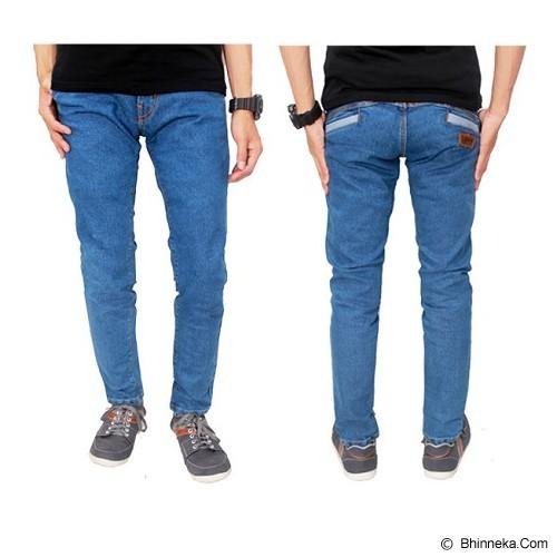 GUDANG FASHION Celana Panjang Jeans Size 32  [CLN 595-32] - Biru Muda - Celana Jeans Pria