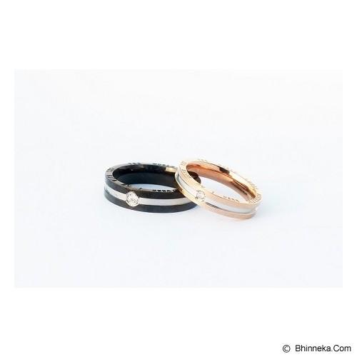 TITANIUM Cincin Couple Size 7(W) & 8(M) [CC007] - Cincin