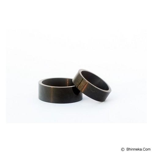 TITANIUM Cincin Couple Size 6(W) & 8(M) [CC012] - Cincin
