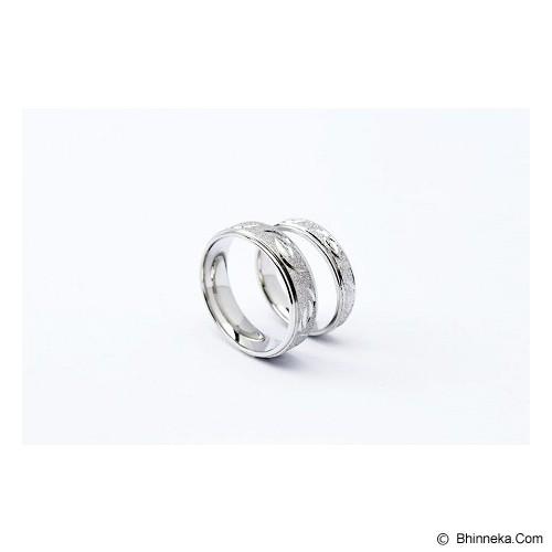 TITANIUM Cincin Couple Size 6(W) & 9(M) [CC020] - Cincin