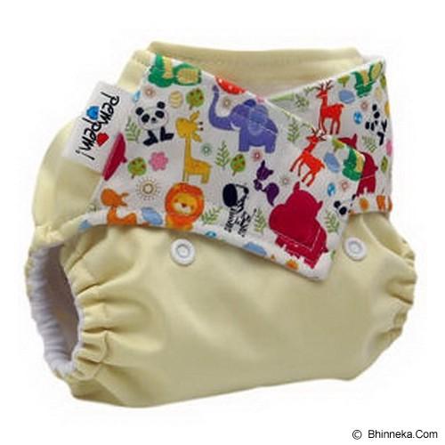 PEMPEM Velcro + Inser Litty Motif Safari - Cloth Diapers / Popok Kain