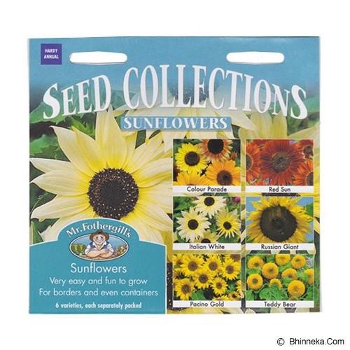 MR FOTHERGILLS Sunflower Collection - Bibit / Benih Tanaman Hias