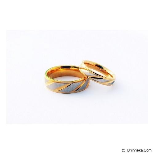 TITANIUM Cincin Couple Size 5(W) & 9(M) [CC054] - Cincin