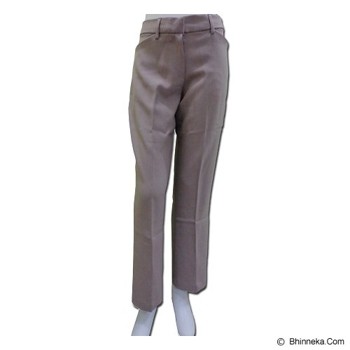 URBAN ACT Formal Long Pants Size 10 - Caramel - Celana Panjang Wanita