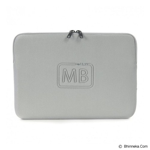 TUCANO Elements Second Skin [BF-E-MBA13-SL] - Silver - Notebook Sleeve