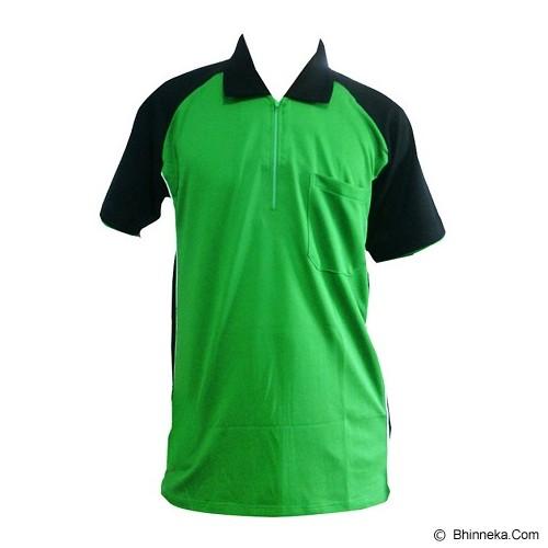 ALL SPORT Baju Olahraga Polo Size L [GF 010 IH] - Hijau - Polo Pria