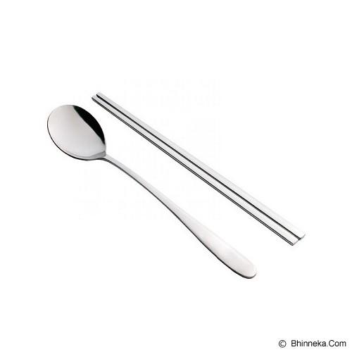 TANICA Sendok Sumpit Korea Set 4 Pasang - Peralatan Makan Set