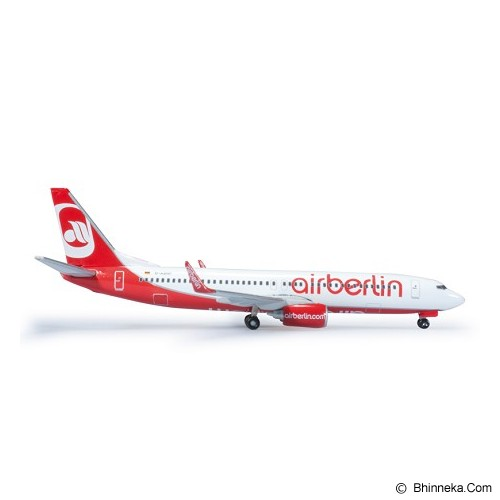 HERPA Air Berlin Boeing 737-800 [H505079-001] - Die Cast