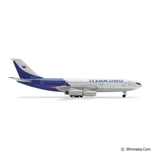 HERPA Pulkovo Airlines Ilyushin IL-86 [H506182] - Die Cast