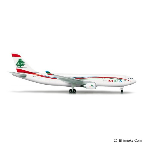 HERPA MEA Middle East Airlines Airbus A330-200 [H524117] - Die Cast