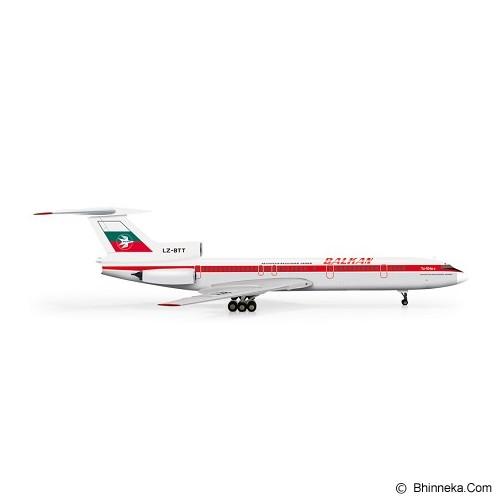 HERPA Balkan Bulgarian Airlines Tupolev TU-154B2 [H555715] - Die Cast