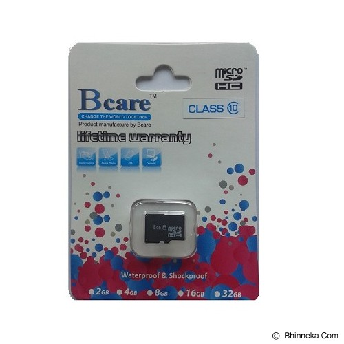BCARE MicroSD Card 8GB Class 10 - Micro Secure Digital / Micro Sd Card