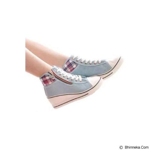 GALLERY FANNY SHOP Sneakers Size 36 [GWS-848] - Grey - Sneakers Wanita