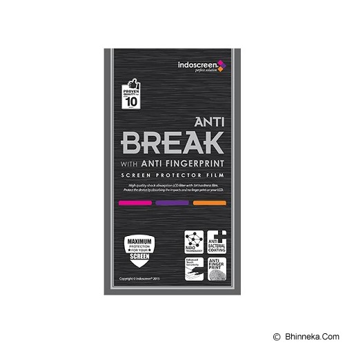 ANTI BREAK Screen Protector Anti Fingerprint for LG G4 [ISAB-78] - Clear - Screen Protector Handphone