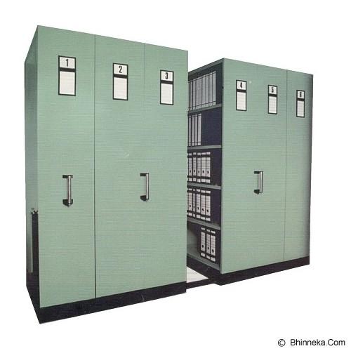 DAICHIBAN Mobile File Manual System [LMF-220-4] - Filing Cabinet / Lemari Arsip