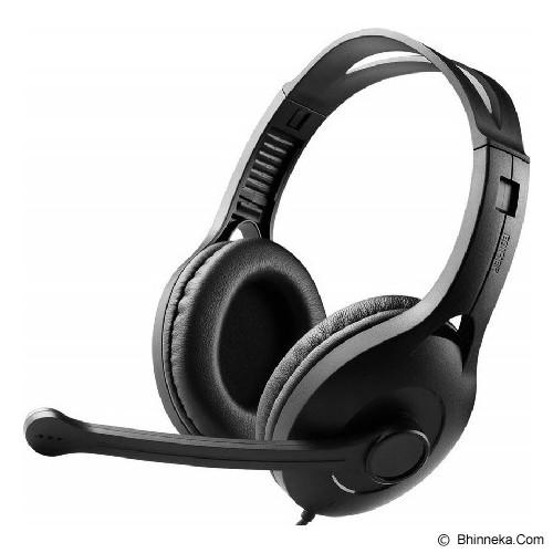 EDIFIER Headphone With Mic [K800] - Black (Merchant) - Headphone Full Size