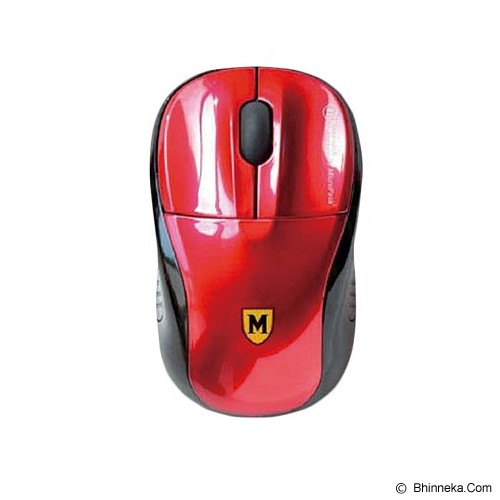 MICROPACK Mouse Blue Tech [Y-2007] - Red - Mouse Basic