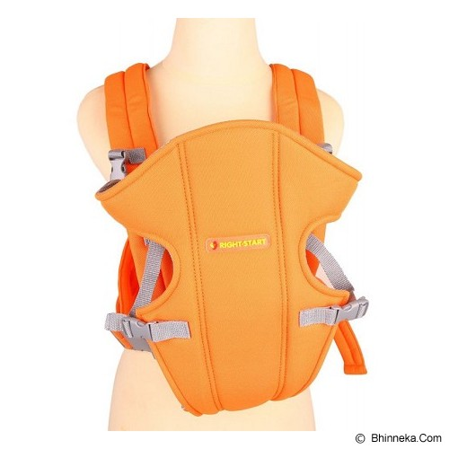 RIGHT STARTS Baby Carrier 2-in-1 3-12 M [RS-108-OR] - Orange - Carrier and Sling