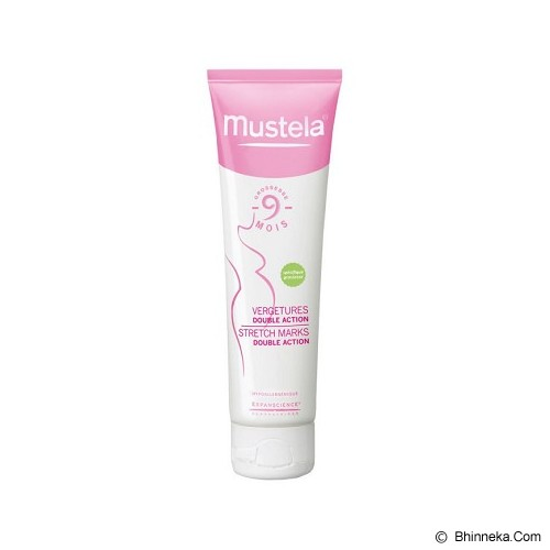MUSTELA Stretch Mark Double Action Cream 150ml [B126] - Perawatan Kehamilan