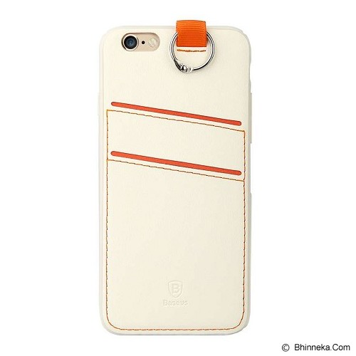 BASEUS Lang Series For iPhone 6/6S - White - Casing Handphone / Case