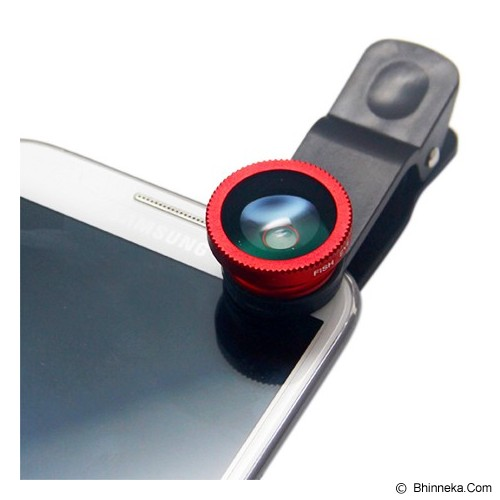 LONG CELL Clip Lens - Red - Gadget Activity Device