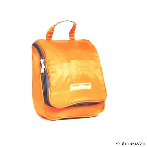 TRAVEL CHECK Toiletries Pouch Bag - Orange - Travel Bag