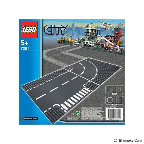 LEGO City Curved [7281] - Building Set Occupation