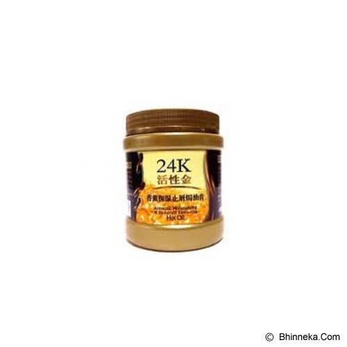 24K Liyanshijia Hair Mask Dandruff Removing Hot Oil - Creambath / Masker Rambut