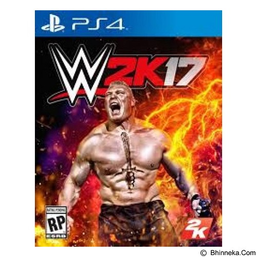 2K WWE 2K17 Reg 1 PlayStation 4 (Merchant) - Cd / Dvd Game Console