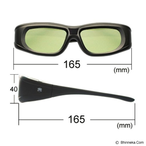 3D GLASSES Kacamata 3D Active Shutter Glasses - Kacamata 3d