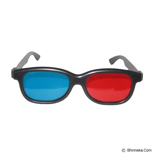 3D GLASSES Kacamata Red Cyan Polycarbonate 3D - Kacamata 3d