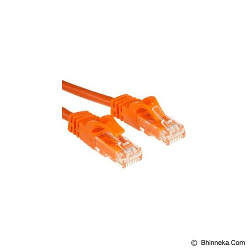 3M Cat5e UTP Patch Cord 3m - Orange - Network Cable Utp