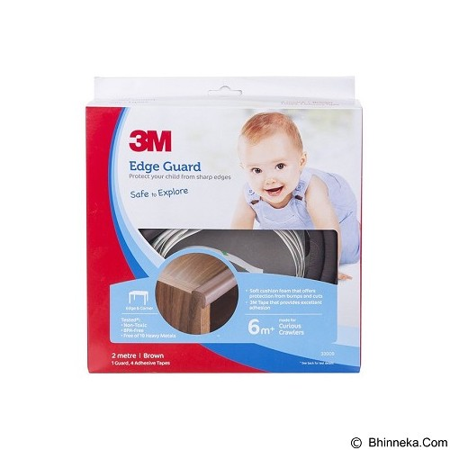 3M Child Edge Guard 1M [SC-211] - Brown  (Merchant) - Door Stop / Penahan Pintu
