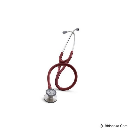 3M Littman Cardiology III Stethoscope 27 inch [3129] - Burgundy Tube (Merchant) - Stetoskop